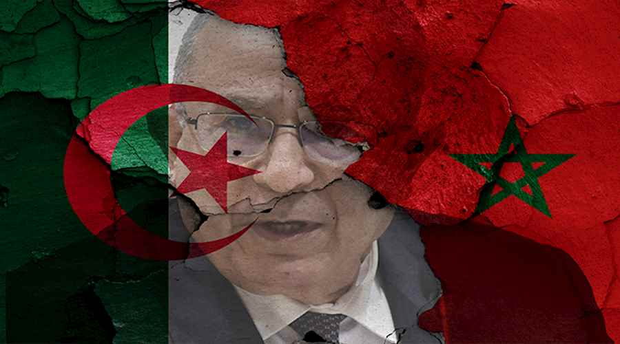 Why did Algeria sever political relations with Morocco?