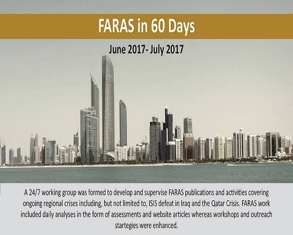 FARAS in 60 Days