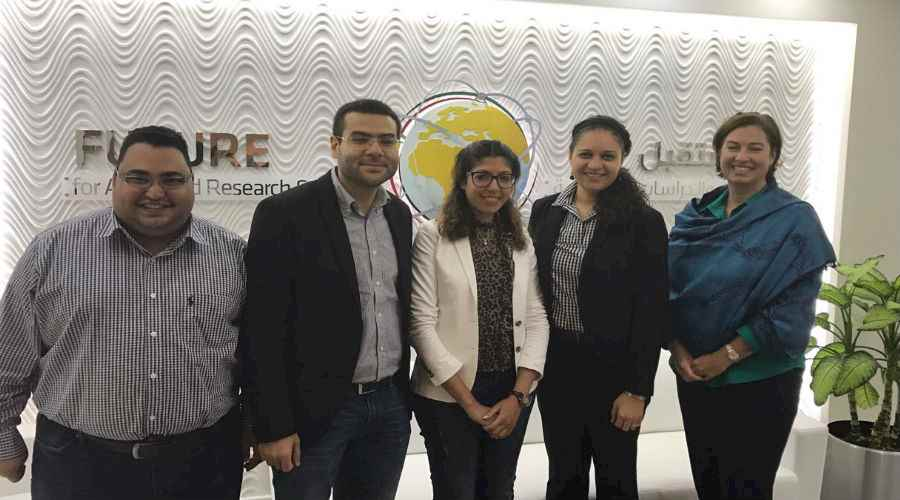 US Embassy representatives visit FARAS Headquarters in Abu Dhabi