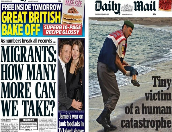 Motivations for European media transforming their stance on the refugee issue